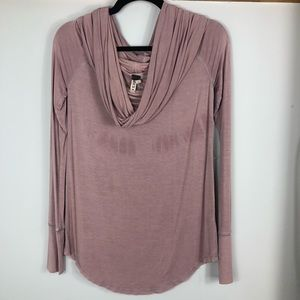 Free people cowl neck top D21